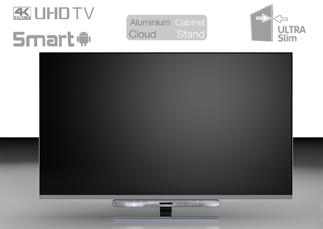 Ultrathin ELED TV