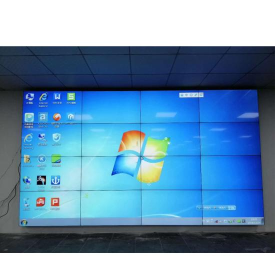 "46 ""49"" 55 ""65"" fhd 4k lcd video wall splicing pantalla empalmada controlador de pared divisor 3.5mm 1.7mm 0.88mm"