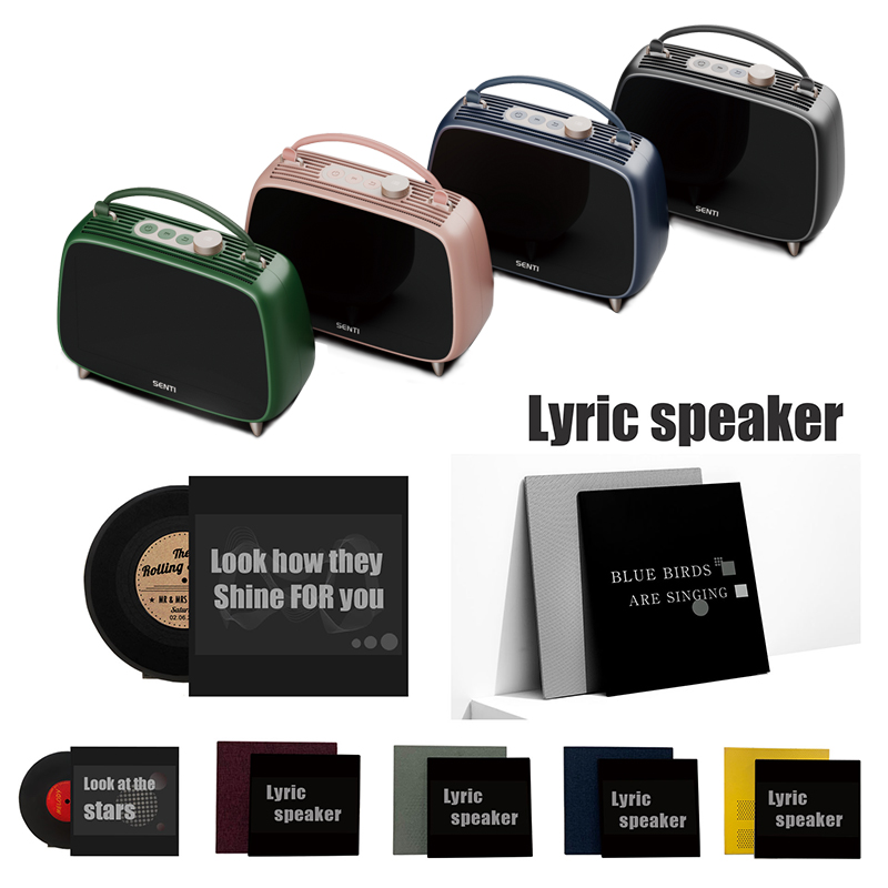2020 new lyric speaker bluetooth smart speaker